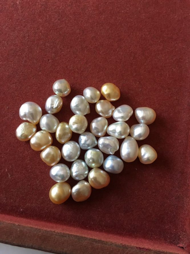 Keshi Moti/ Keshi pearl